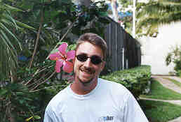 Mark and hibiscus