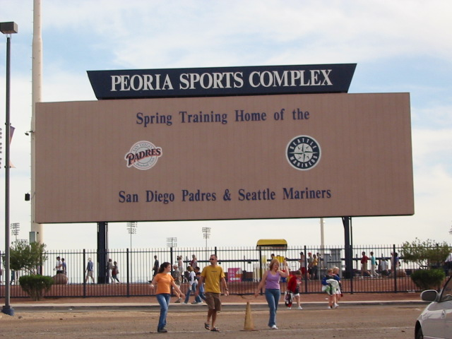 welcome to peoria sports complex